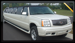 White Jeep Limo Hire